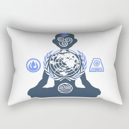 United Nations of the Earth Kingdom Rectangular Pillow