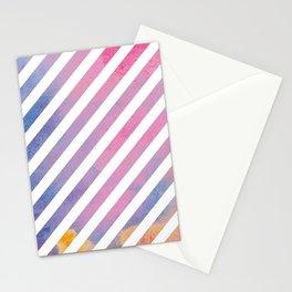 Summer Sky Stripes Stationery Cards
