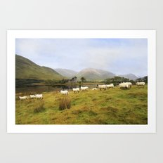 Morning at Kilchurn Art Print