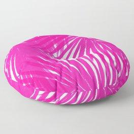 Palms Fuchsia Floor Pillow