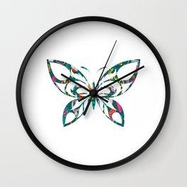 Butterfly 42 Wall Clock