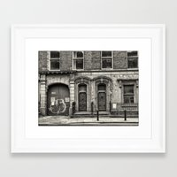 dublin Framed Art Prints featuring Dublin by unaciertamirada