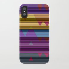 Mountains Slim Case iPhone X