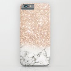 Marble & Stardust Ombre iPhone 6s Slim Case