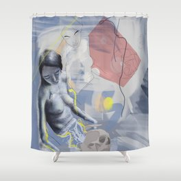 Rising love Shower Curtain
