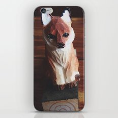 Doorstop Red Fox iPhone & iPod Skin