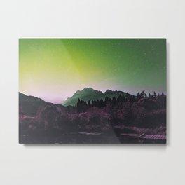 Lakeside Greens Metal Print