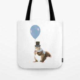 party squirrel Tote Bag