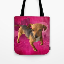 GRACiE (shelter pup) Tote Bag
