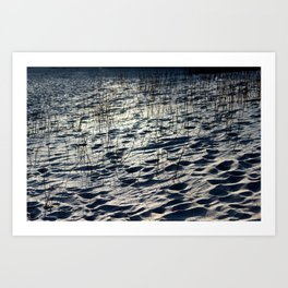 Sand or Snow? Art Print