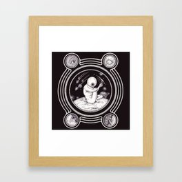 Sp-eye-ce Framed Art Print