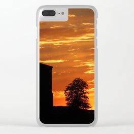 Castle Sunset  - JUSTART © Clear iPhone Case