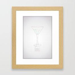 Vodka Framed Art Print