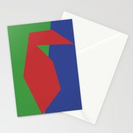 Minimalism Abstract Colors #19 Stationery Cards