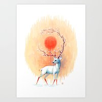 freeminds Art Prints featuring Spring Spirit by Freeminds
