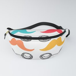 Monsieur Moustache Fanny Pack