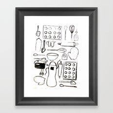 Pantry Framed Art Print