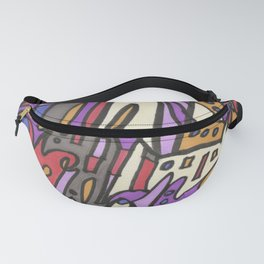 Feel This Real Forever (purple) Fanny Pack