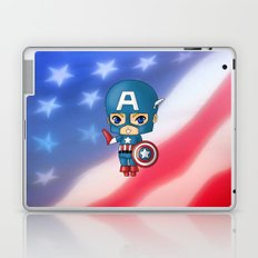 Chibi Captain America Laptop & iPad Skin