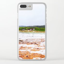Rusty Banks Clear iPhone Case