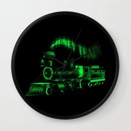 Money Train Wall Clock