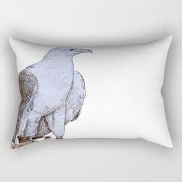 Ferocious Eagle Rectangular Pillow