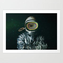 Depth Art Print