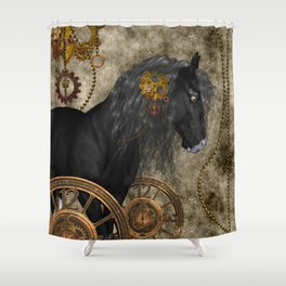 Beautiful wild horse Shower Curtain