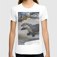 otter T-shirts featuring Otter by Phil Hinkle Designs