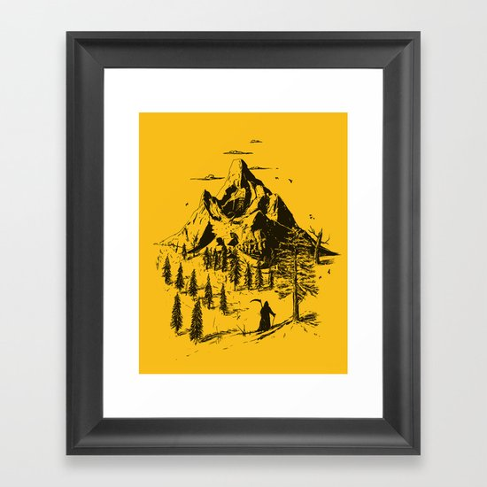 Home! Sweet Home! Framed Art Print