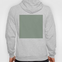 Green Pantone #839182 Hoody