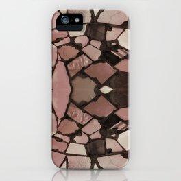 Mosaic - Rose Quartz iPhone Case