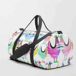 Chickens from Your Barnyard by Murray Bolesta! Duffle Bag