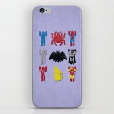 Super Heroic Minimalism Remix iPhone & iPod Skin