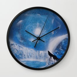 A (Frozen) Night To Remember Wall Clock