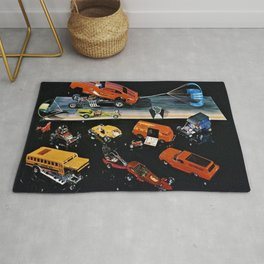 1970 Hot Wheels Redline Club Collector's Edition Catalog Poster Rug