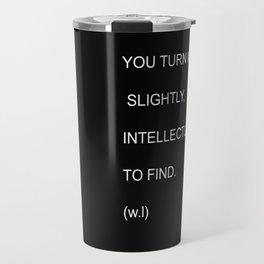 Intellectual Travel Mug