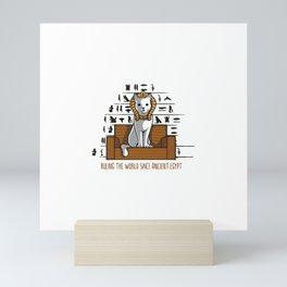 Ruling the World Mini Art Print