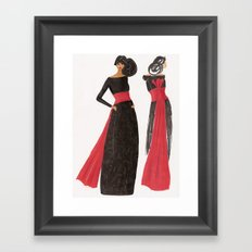 Gala Girl Framed Art Print