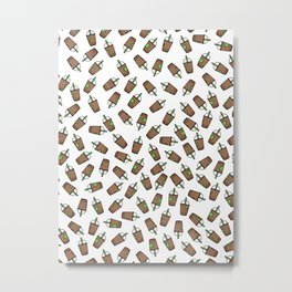 Bev Fresh Pattern Metal Print