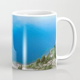 Crater Lake Cloud Reflection Coffee Mug
