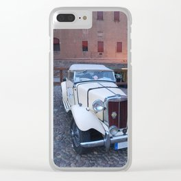 MG CARS Clear iPhone Case