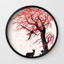 Wind in the Willows Wall Clock