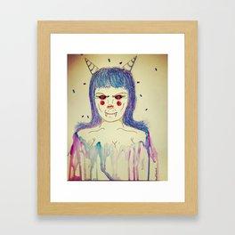 kOtTon KaNdi dEmuN Framed Art Print