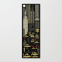 New York (Vertical) Canvas Print