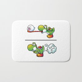 Farting Yoshi Green Bath Mat