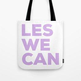 LES WE CAN Tote Bag