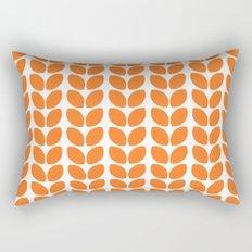 leaves - orange Rectangular Pillow