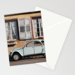 Vintage Car, Rustic Home Stationery Cards