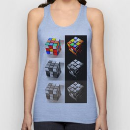 Rubiks Cube Unisex Tank Top